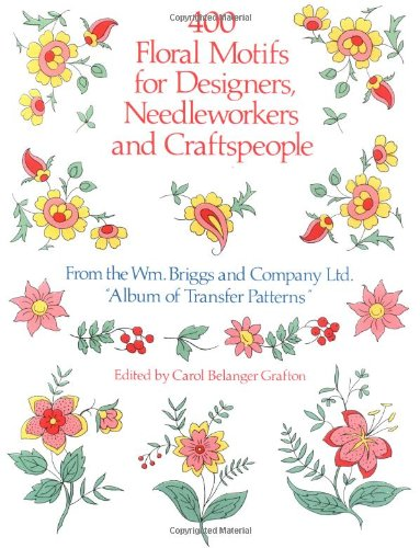 400 Floral Motifs for Designers, Needleworkers and Craftspeople 9780486251622