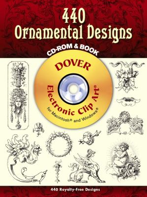 440 Ornamental Designs [With CDROM] 9780486997865