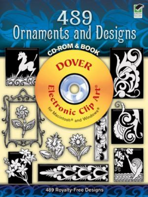 489 Ornaments and Designs [With CDROM] 9780486998596