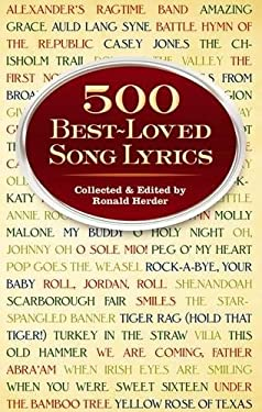 500 Best-Loved Song Lyrics 9780486297255