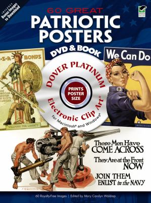 60 Great Patriotic Posters Platinum DVD and Book [With DVD] 9780486990408
