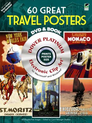 60 Great Travel Posters [With DVD] 9780486990422