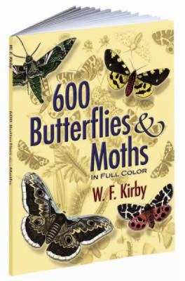 600 Butterflies & Moths in Full Color 9780486461397