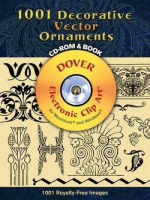 922 Decorative Vector Ornaments [With CDROM] 9780486990217