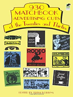 930 Matchbook Advertising Cuts of the Twenties and Thirties 9780486295640