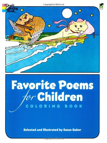 Favorite Poems for Children Coloring Book 9780486239231