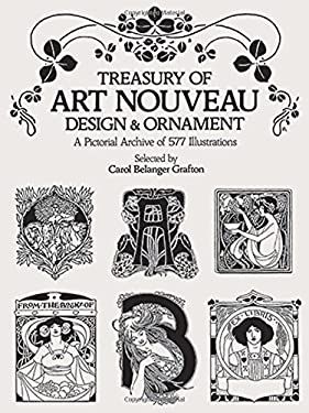 Treasury of Art Nouveau Design & Ornament 9780486240015