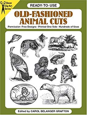 Ready-To-Use Old-Fashioned Animal Cuts 9780486253305