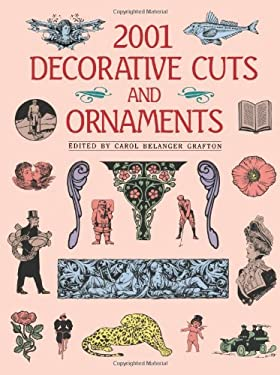 2001 Decorative Cuts and Ornaments 9780486256122