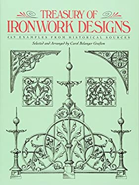 Treasury of Ironwork Designs: 469 Examples from Historical Sources 9780486271262
