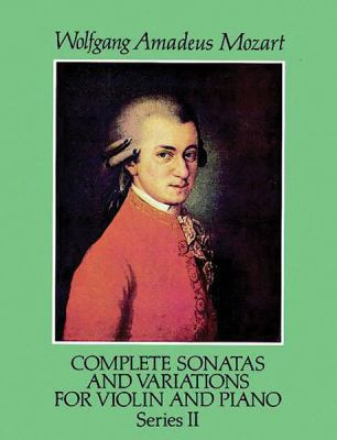 Complete Sonatas and Variations for Violin and Piano, Series II 9780486274065