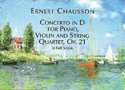 Concerto in D for Piano, Violin and String Quartet, Op. 21, in Full Score 9780486406329