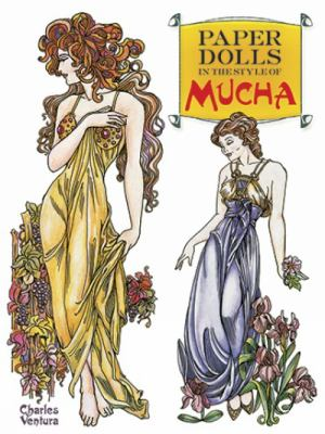 Paper Dolls in the Style of Mucha 9780486479217