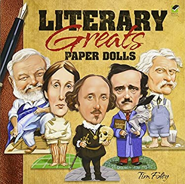 Literary Greats Paper Dolls 9780486481173
