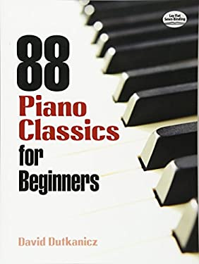 88 Piano Classics for Beginners 9780486483887