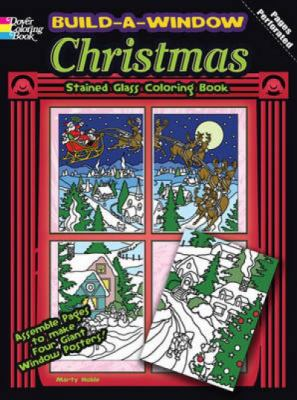 Build-A-Window Stained Glass Coloring Book Christmas 9780486483948