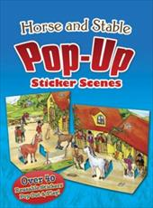 Horse and Stable Pop-Up Sticker Scenes 16417876