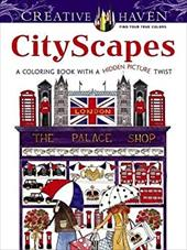 Creative Haven CityScapes: A Coloring Book with a Hidden Picture Twist (Adult Coloring) 23477843