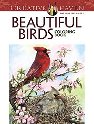 Creative Haven Beautiful Birds Coloring Book (Adult Coloring)
