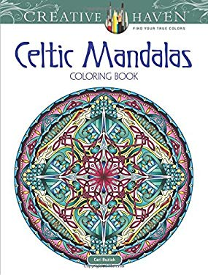 Creative Haven Celtic Mandalas Coloring Book (Creative Haven Coloring Books)