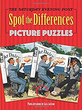 The Saturday Evening Post Spot the Differences Picture Puzzles (Dover Children's Activity Books)