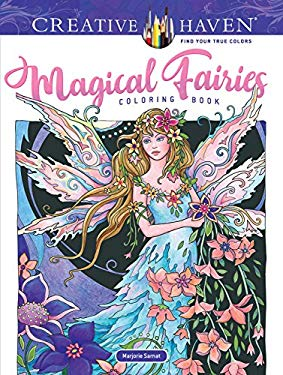 Creative Haven Magical Fairies Coloring Book (Adult Coloring)