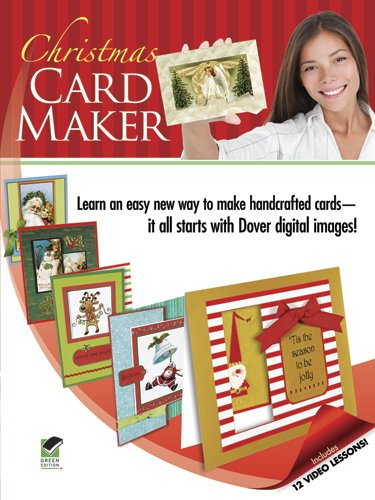 Christmas Card Maker [With DVD ROM] 9780486991436