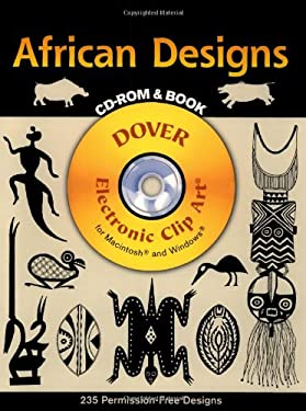 African Designs CD-ROM and Book 9780486995274
