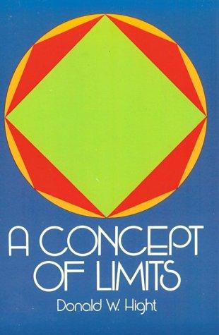 A Concept of Limits 9780486635439