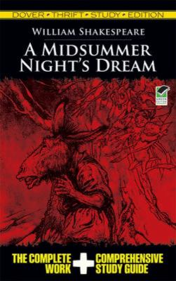 A Midsummer Night's Dream Thrift Study Edition 9780486475745