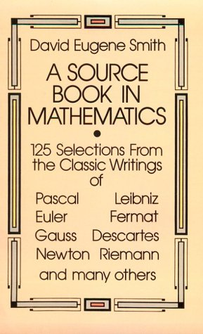 A Source Book in Mathematics 9780486646909