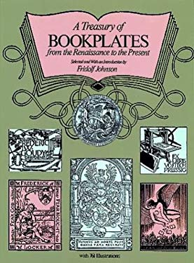 A Treasury of Bookplates from the Renaissance to the Present 9780486234854