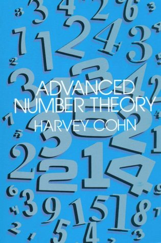 Advanced Number Theory 9780486640235