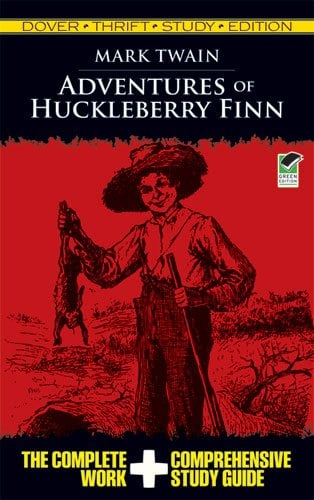 Adventures of Huckleberry Finn Thrift Study Edition 9780486475844