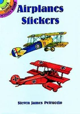 Airplanes Stickers [With Stickers] 9780486400839