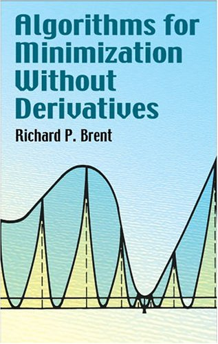 Algorithms for Minimization Without Derivatives 9780486419985