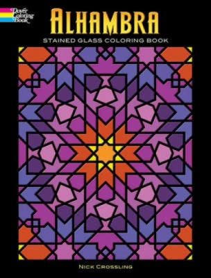 Alhambra Stained Glass Coloring Book 9780486465319