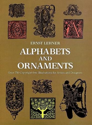 Alphabets and Ornaments 9780486219059