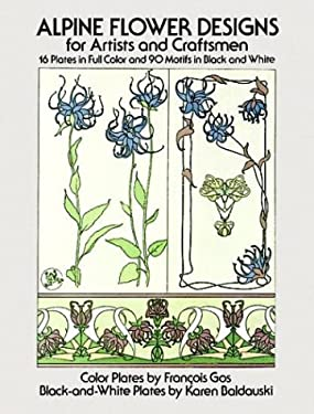 Alpine Flower Designs for Artists and Craftsmen 9780486239828