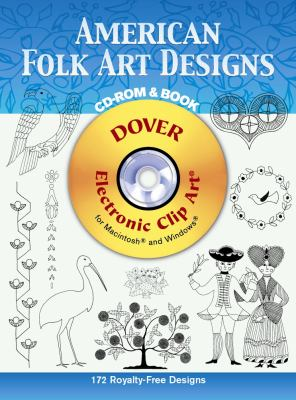 American Folk Art Designs [With CDROM] 9780486997872