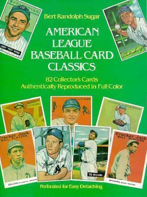 American League Baseball Card Classics 9780486242866