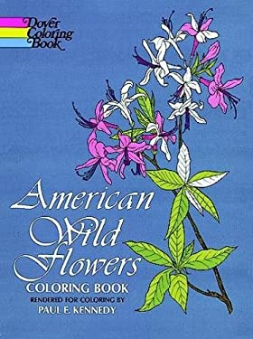 American Wild Flowers Coloring Book 9780486200958