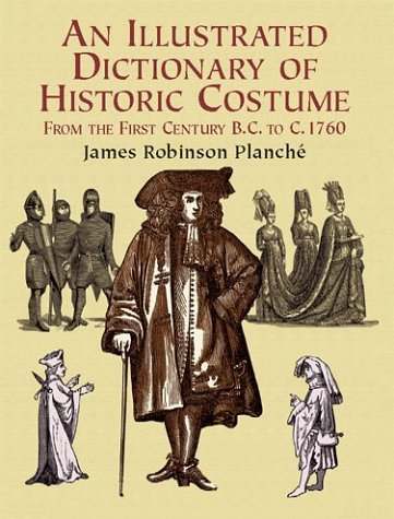 An Illustrated Dictionary of Historic Costume 9780486423234