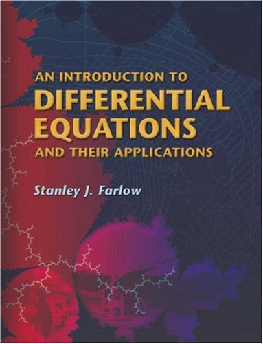 An Introduction to Differential Equations and Their Applications 9780486445953