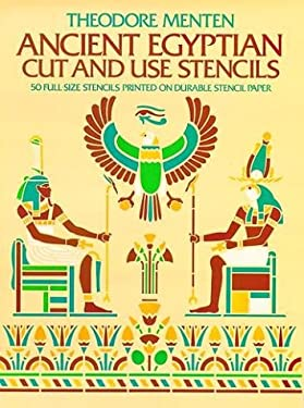 Ancient Egyptian Cut & Use Stencils 9780486236261