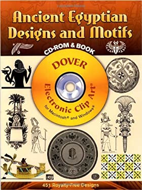 Ancient Egyptian Designs and Motifs [With CDROM] 9780486997612