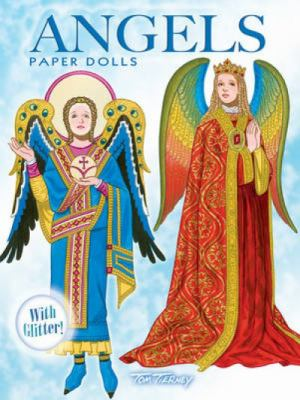 Angels Paper Dolls: With Glitter! 9780486479408
