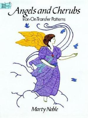 Angels and Cherubs Iron-On Transfer Patterns 9780486292311