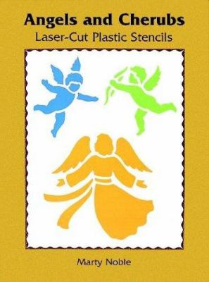 Angels and Cherubs Laser-Cut Plastic Stencils 9780486297996