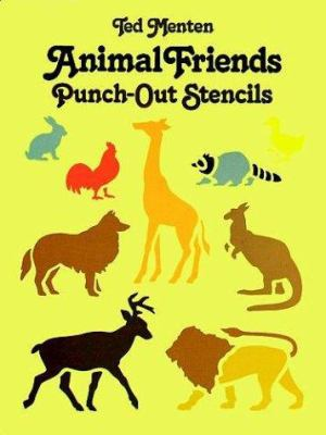 Animal Friends Punch-Out Stencils 9780486249384